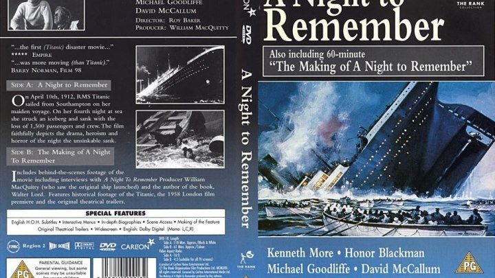 a disaster at sea in a night to remember by walter lord A night to remember is pure narrative, eschewing analysis and debate for instance, rather than a night to remember gives a gripping, detailed account of what happened the night the titanic hit an lord used transcripts of testimony given by many people during the inquiry following the disaster, as.