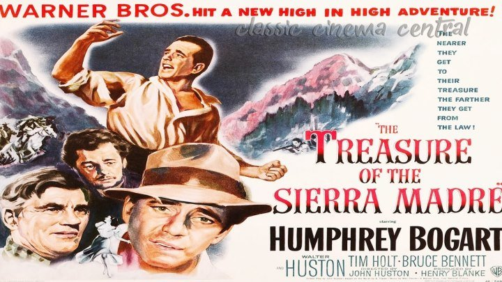 an examination of the movie treasure of the sierra madre