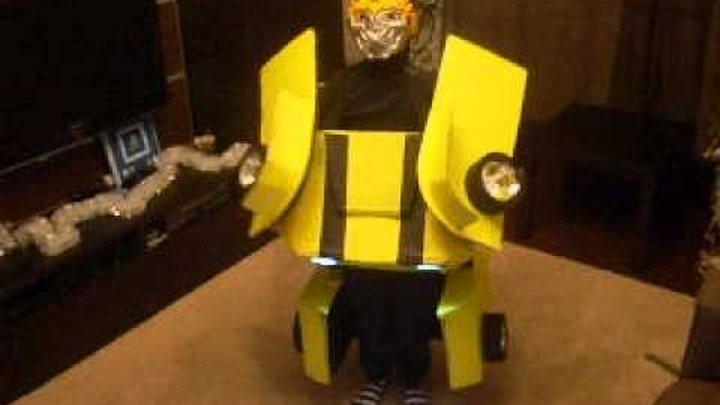 Как сделать из картона костюм трансформера