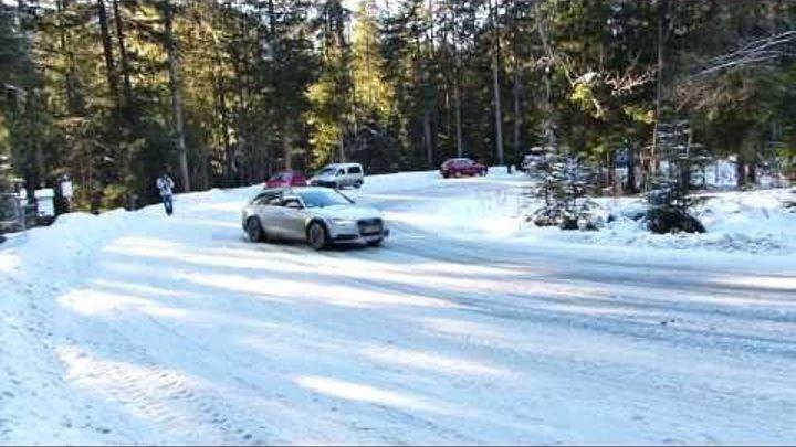 2013 Audi A6 Allroad Quattro In Snow Drift