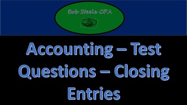 accounting test questions Accounting job profiles 15 toughest interview questions (and answers) passing the cpa exam: the most important choice you'll make.