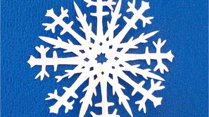 Снежинки своими руками и показать как