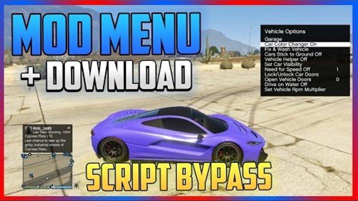 [PS3/1 25/1 26] GTA 5 Mod Menu + DOWNLOAD - SCRIPT BYPASS (GTA 5 MODS)