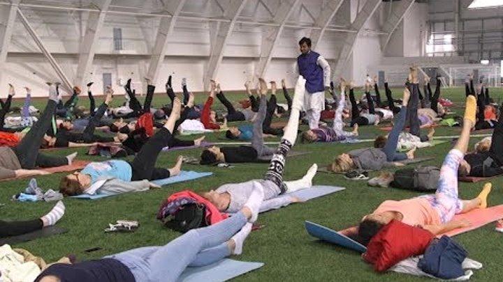 Дыхательные практики при йоги