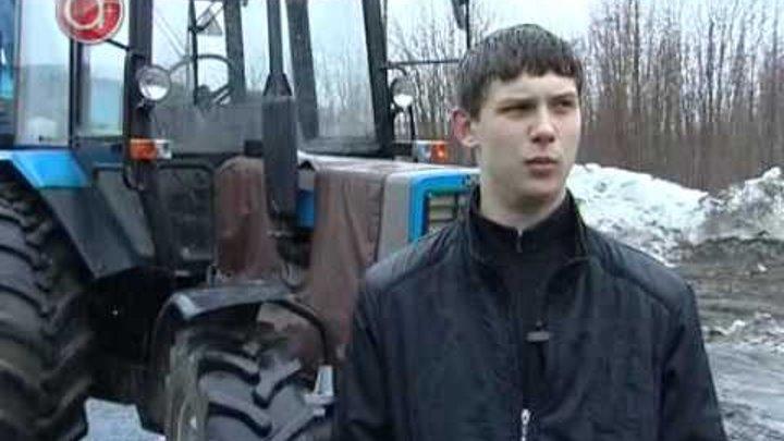 Конкурс по вождению тракторов