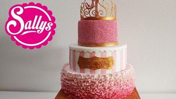Prinzessin Torte Zum 1 Geburtstag Madchen First Birthday Cake
