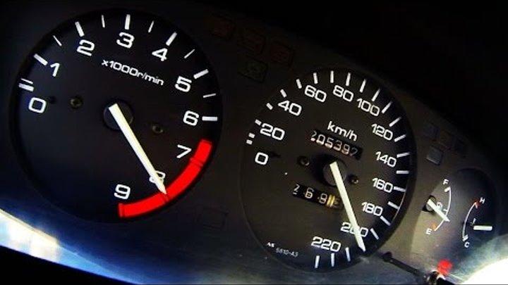 Honda Civic 24 Vtec Acceleration 0 100 0 200 Test Drive