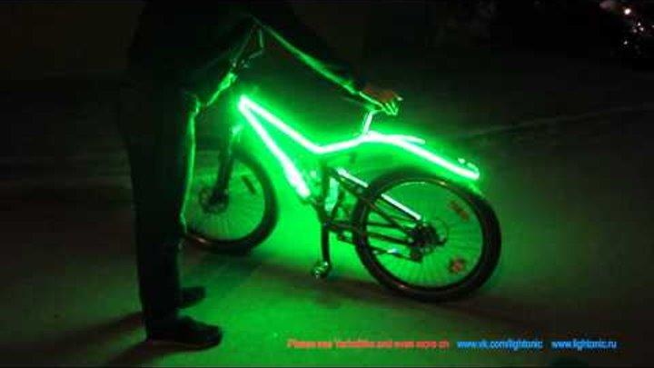 подсветки велосипедов своими руками