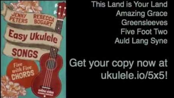 Easy Ukulele Songs Five With Five Chords New Ebook 21 Songs In 6
