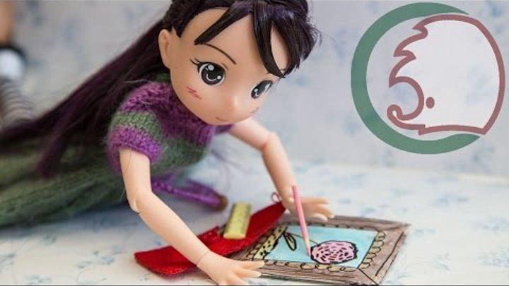 """Как сделать подставку для карандашей для кукол барби - Студия дизайна """"Conydes"""""""