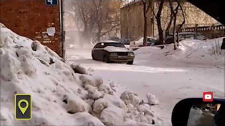 Движок для уборки снега усиленный алюминиевый