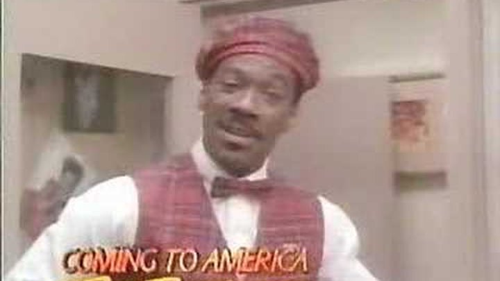 essay on coming to america movie