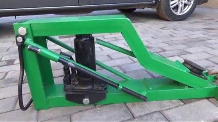 Домкрат для авто своими руками - Spbgal.ru