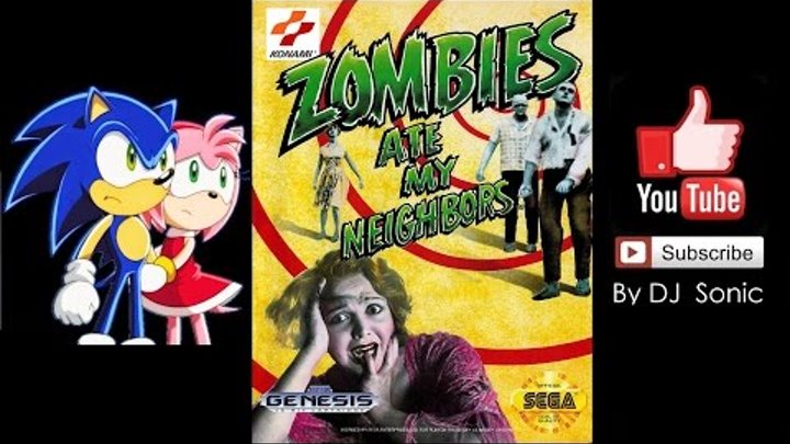 zombies ate my neighbors sega