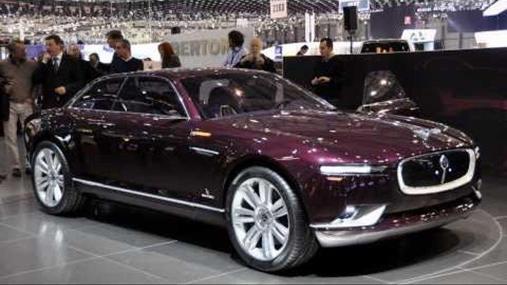 2011 Bertone Jaguar B99 Concept 2011 Geneva Auto Show