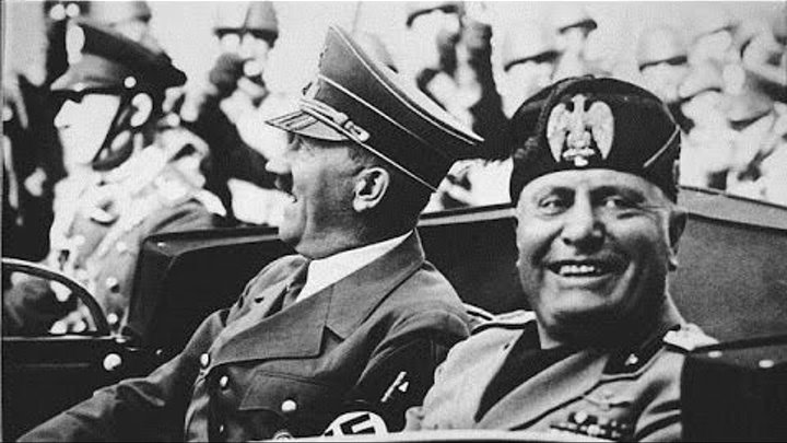 the over inflated ego of benito mussolini an italian world war ii fascist dictator