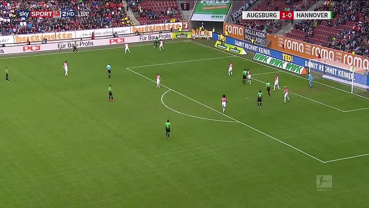 Augsburg Hannover Goals And Highlights
