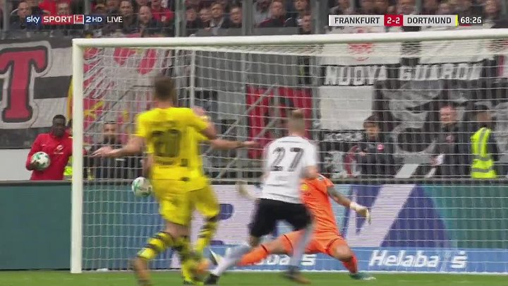 Eintracht  Frankfurt Borussia Dortmund Goals And Highlights