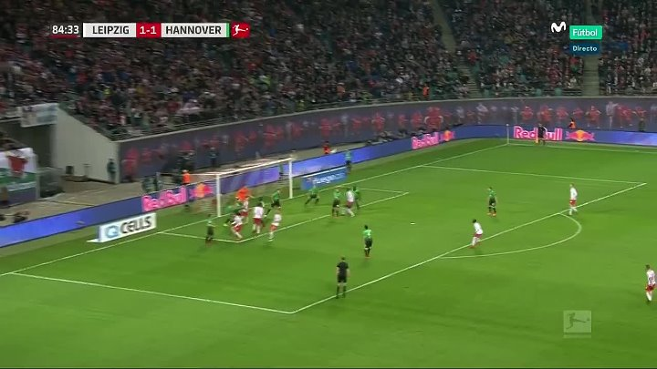 RB Leipzig Hannover goals and highlights
