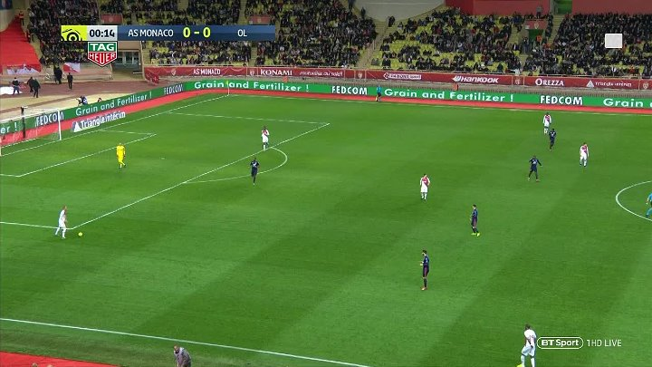 Monaco vs Lyon –  & Full Match