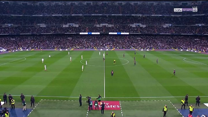 Real Madrid 0 - 3 FC Barcelona