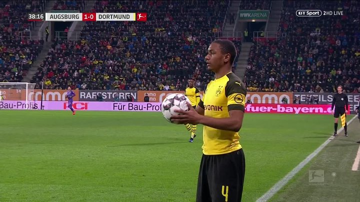 Augsburg vs Borussia Dortmund –  & Full Match