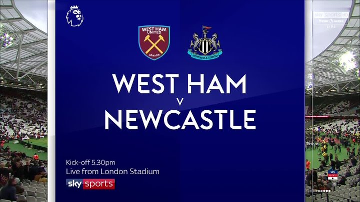West Ham United vs Newcastle United –  & Full Match