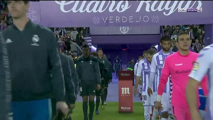 Real Valladolid 1 - 4 Real Madrid