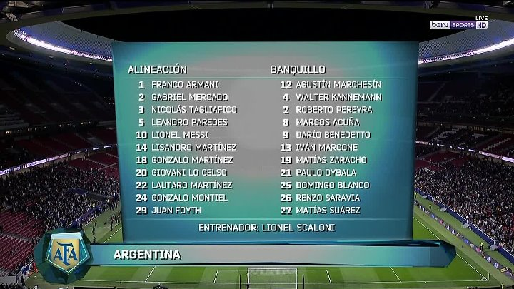 Argentina vs Venezuela –  & Full Match
