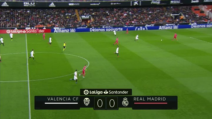 Valencia vs Real Madrid –  & Full Match