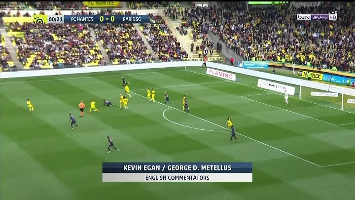 Nantes 3 - 2 Paris Saint Germain (PSG)