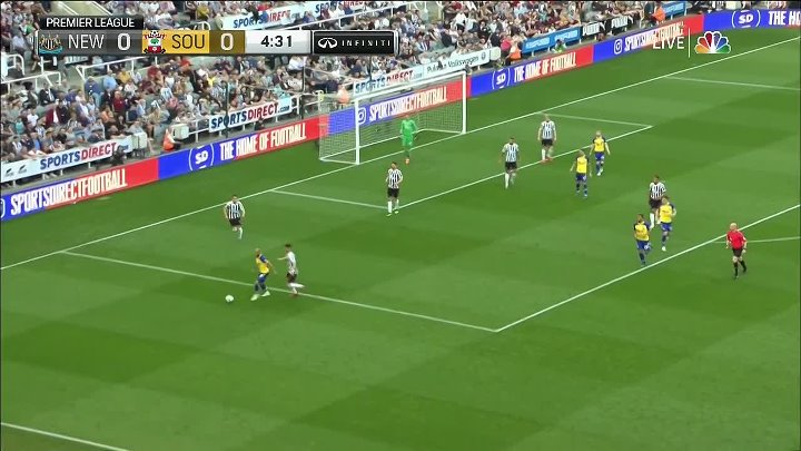 Newcastle United vs Southampton –  & Full Match