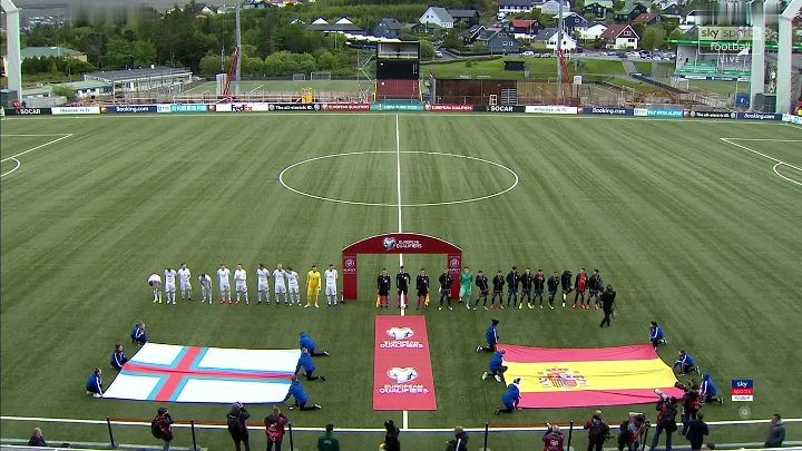Faroe Islands vs Spain –  & Full Match