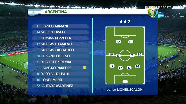 Argentina vs Paraguay –  & Full Match