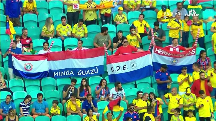 Colombia vs Paraguay –  & Full Match