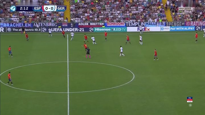 Spain U21 vs Germany U21 –  & Full Match