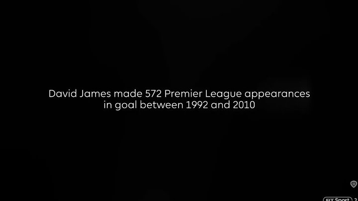 Premier League 100 – David James