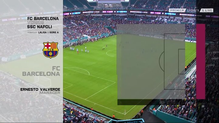 Napoli vs Barcelona –  & Full Match