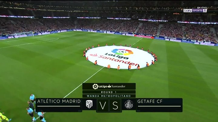Atletico Madrid 0 - 0 Getafe