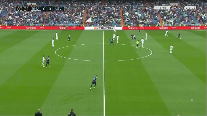Real Madrid vs Levante –