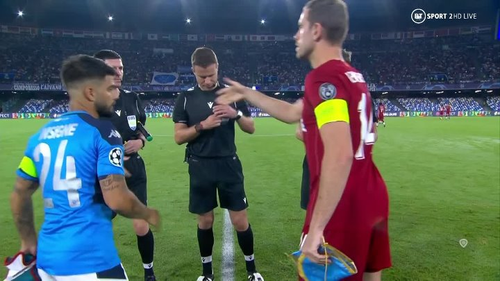 Napoli vs Liverpool –