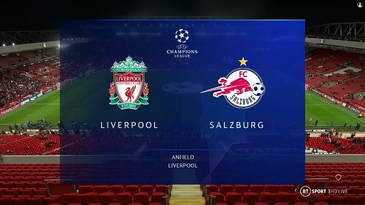 Liverpool vs Salzburg –  & Full Match