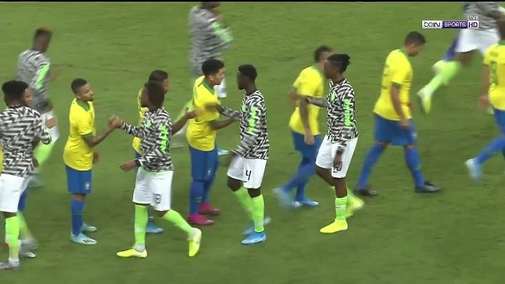 Brazil vs Nigeria –  & Full Match