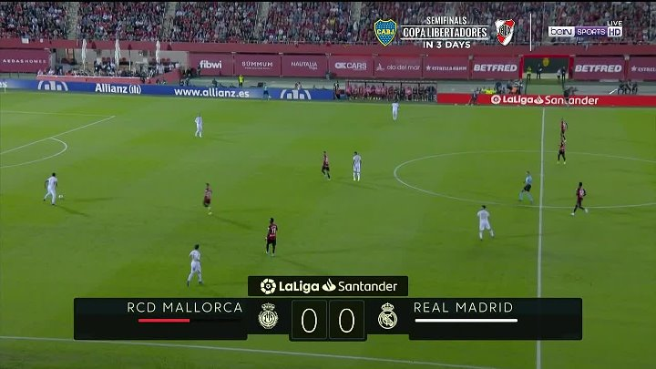 Mallorca vs Real Madrid –  & Full Match