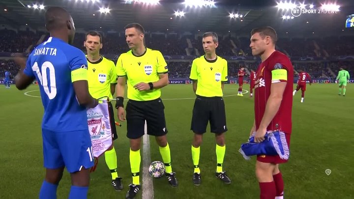 Genk vs Liverpool –  & Full Match