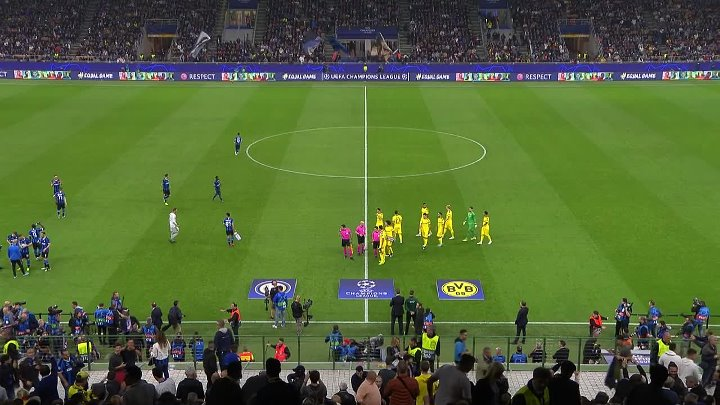 Inter vs Borussia Dortmund –  & Full Match