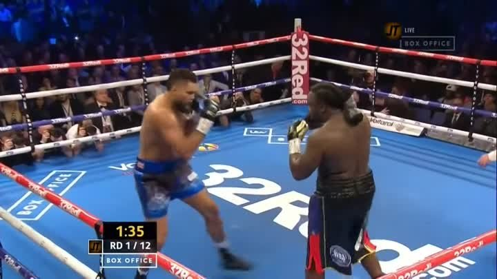 Джо Джойс - Бермейн Стиверн / Joe Joyce vs. Bermane Stiverne