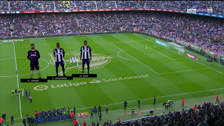 Barcelona vs Deportivo Alavés –  & Full Match
