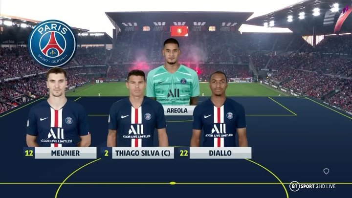 Rennes PSG Goals And Highlights