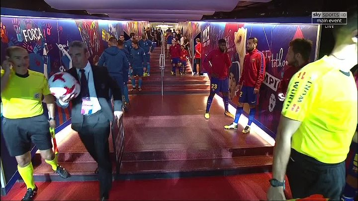 Spanish Super Cup – Barcelona v Real Madrid – 1st leg –  13th August 2017